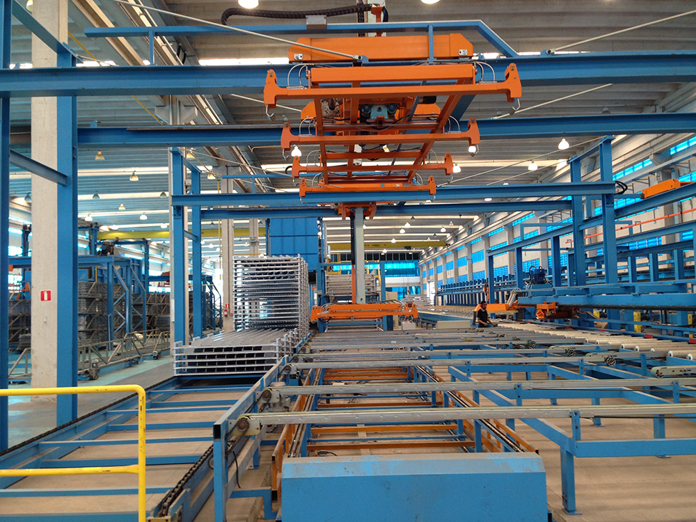 DOUBLE STACKER FOR LONG PROFILE (15MT)